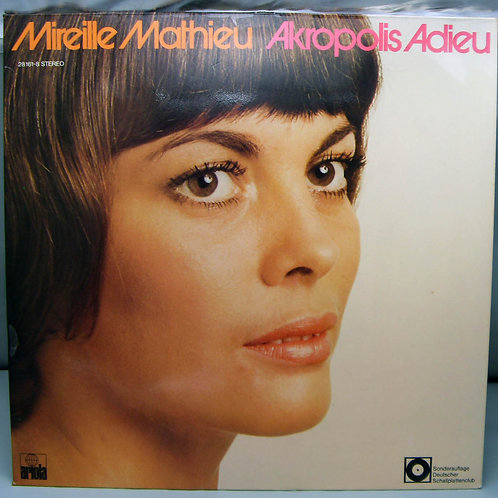 LP Mireille Mathieu – Akropolis Adieu 1971 German