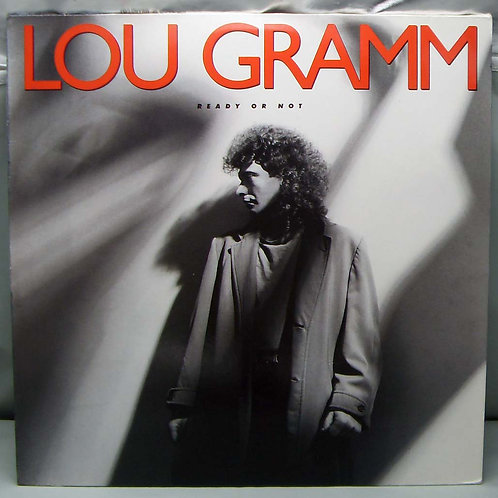 LP Lou Gramm ‎– Ready Or Not 1987 Germany