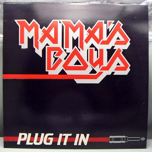 LP Mama's Boys – Plug It In 1982 UK