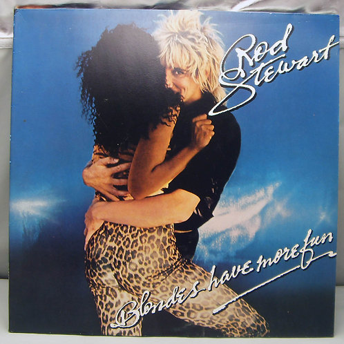 LP Rod Stewart – Blondes Have More 1978 Germany