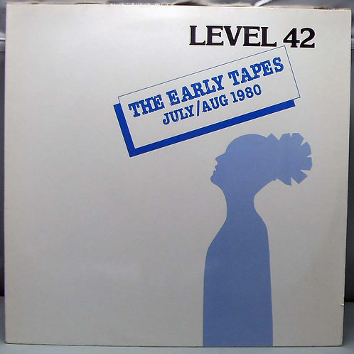 LP Level 42 ‎– The Early Tapes 1982 Germany