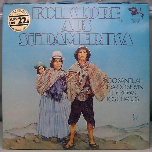 2LP Folklore Aus Südamerika 1973 Germany