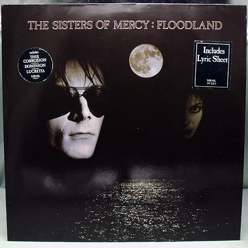 LP The Sisters Of Mercy – Floodland 1987 Germany