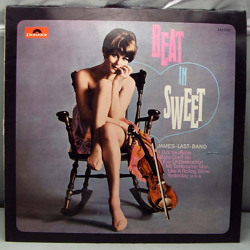 LP James Last Band - Beat in Sweet 1965 Germany