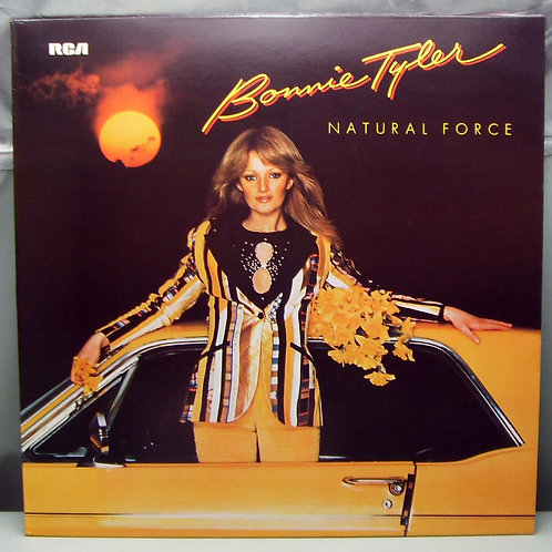 LP Bonnie Tyler ‎– Natural Force 1978 Germany