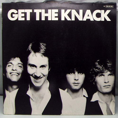 LP The Knack – Get The Knack 1979 Germany
