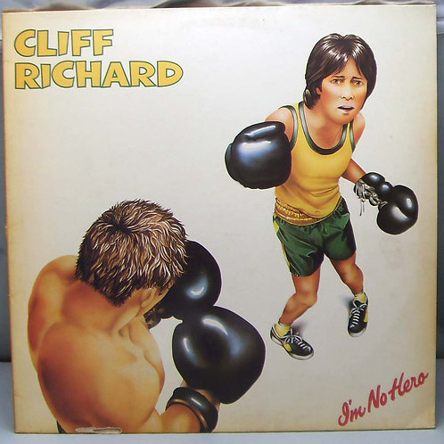 LP Cliff Richard – I'm No Hero 1980 Germany