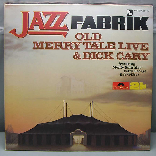 2LP Old Merry Tale Live & Dick Cary 1978 Germany
