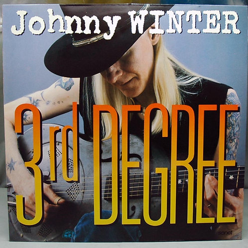 LP Johnny Winter – 3rd Degree 1986 Germany