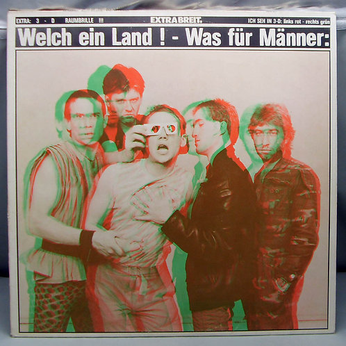 LP Extrabreit. - Welch Ein Land ! 1981 Germany