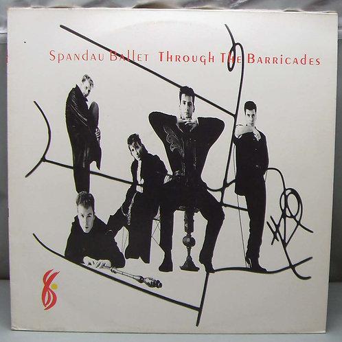 LP Spandau Ballet – Through The Barricades 1989