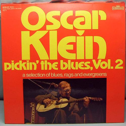 LP Oscar Klein - Pickin' the Blues 1976 Germany