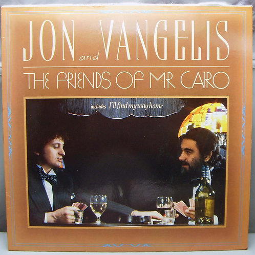 LP Jon  & Vangelis - The Friends of Mr Cairo 1981