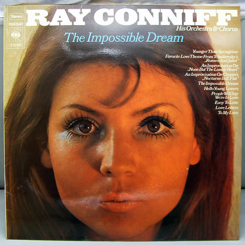 LP Ray Conniff - The Impossible Dream 1970 Holland