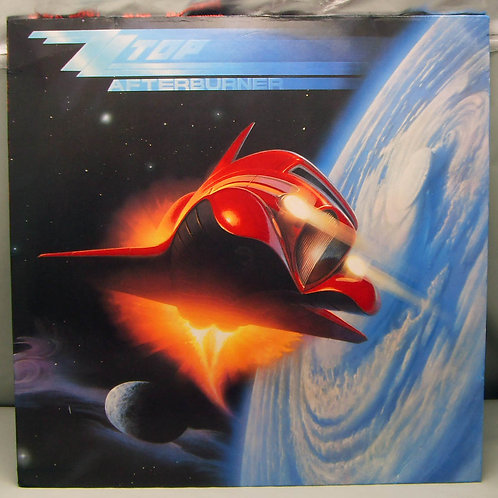 LP ZZ Top ‎– Afterburner 1985 Germany