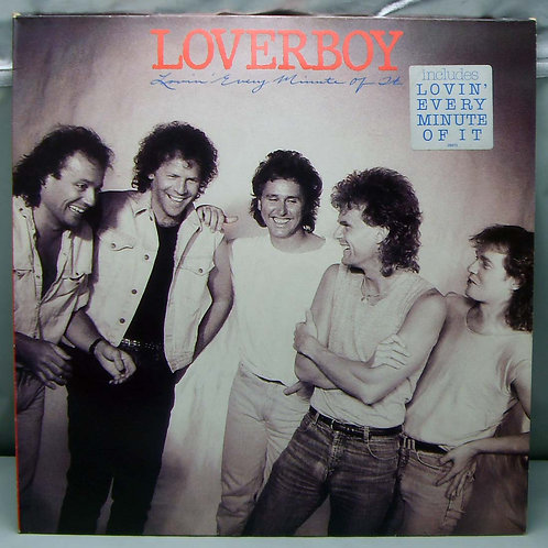LP Loverboy – Lovin' Every Minute 1985 Holland