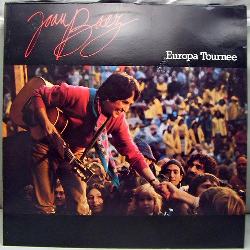 LP Joan Baez - Europa Tournee 1980 Holland