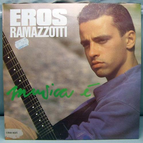 LP Eros Ramazzotti – Musica È 1988 Greece