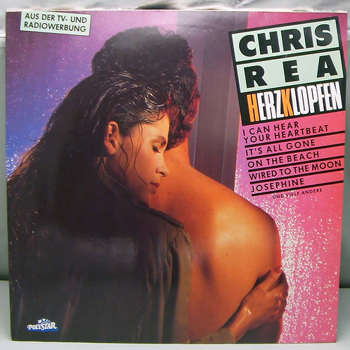 LP Chris Rea - Herzklopfen 1986 Germany