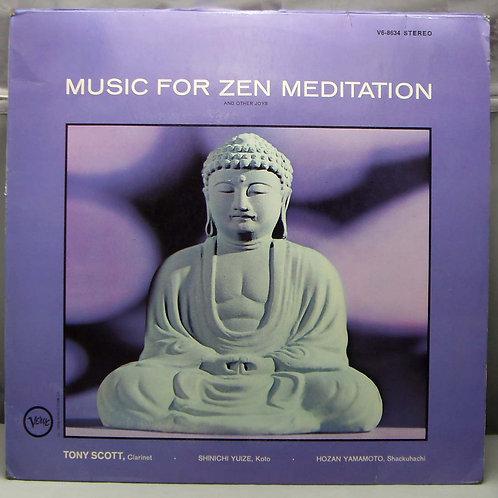 LP Tony Scott - Music For Zen Meditation 1964 DE