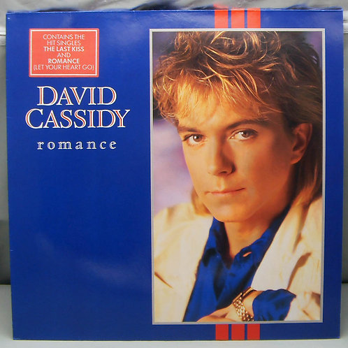 LP David Cassidy ‎– Romance 1985 Germany