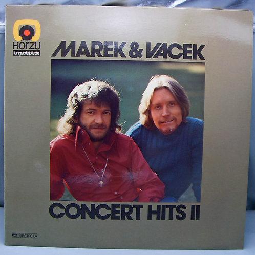 LP Marek & Vacek - Concert Hits II 1973 Germany