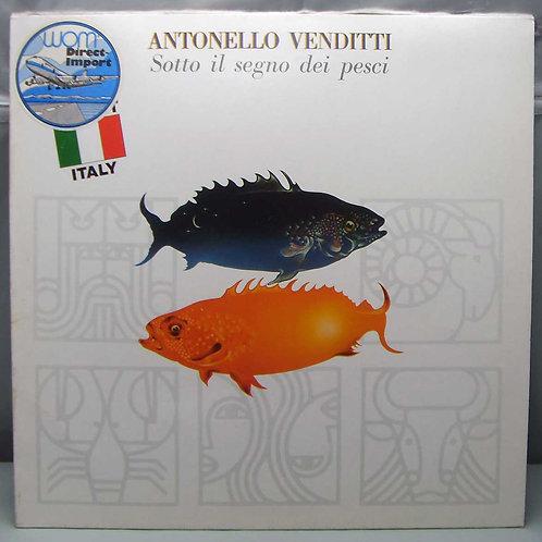 LP Antonello Venditti - Sotto il segno... 1978 DE