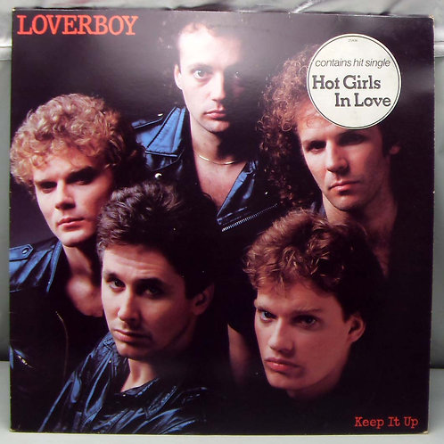 LP Loverboy – Keep it Up 1983 Holland