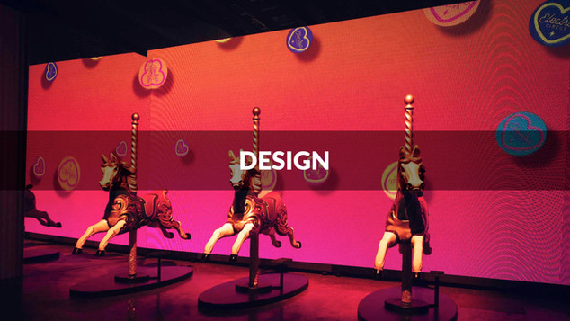 Our extensive in-house capabilities enable us to design exceptional visuals, bespoke set designs and intricate video content for your event.
