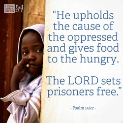 Psalm 146:7