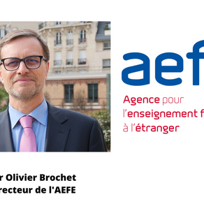 Virtual visit of the Director of the AEFE