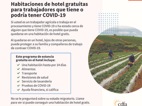 Housing for the Harvest information to help food and agriculture workers