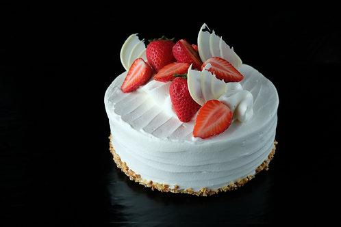 苺のホールケーキ
