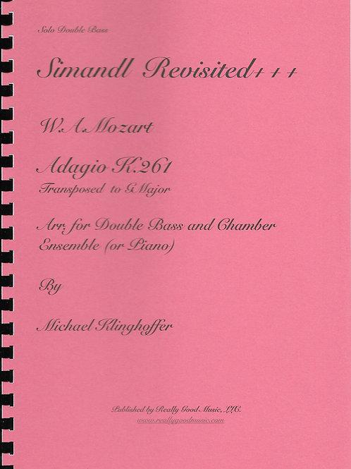 Mozart Adagio K. 261 Complete (Full Score, Set of Parts, Piano Part, Solo Part)
