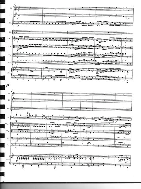 Mozart Bassoon Concerto K. 191 Complete (Score, All Parts, Piano and Solo Parts)