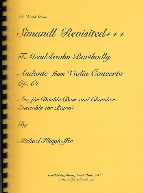 Mendelssohn Andante from Violin Concerto Complete