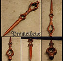 _Prometheus_. Hand carved. Mahogany. Foc