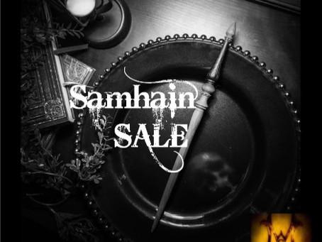 SAMHAIN SALE