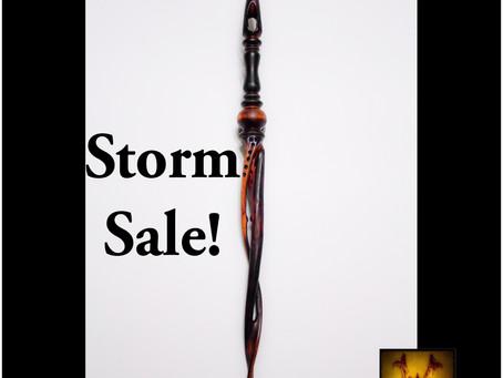 Storm Sale!