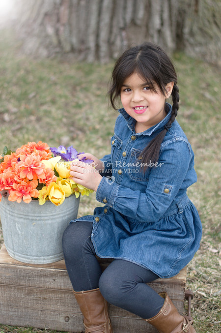 Kid's Spring mini photo sessions