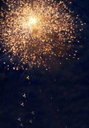 3x5ft Fireworks