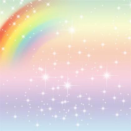6x6ft Starry Rainbow