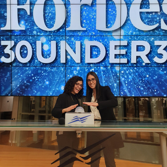 Maya in Forbes 30Under30 event
