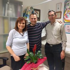 Prof. Aviva Fatal, Eli lerner and Dr. Ariel Orbach