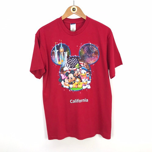 Vintage Disney California T-Shirt Large