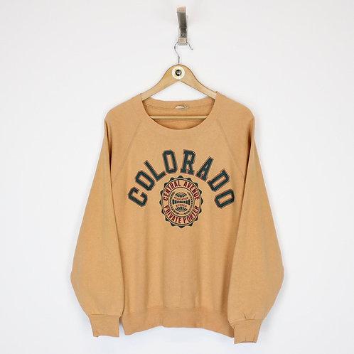 Vintage Colorado USA Sweatshirt Small