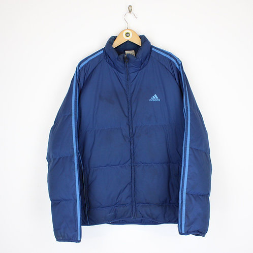 Vintage Adidas Puffer Jacket Large