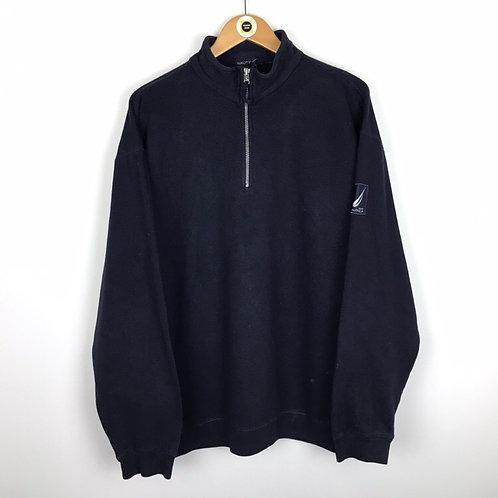 Vintage Nautica 1/4 Zip Sweatshirt XL