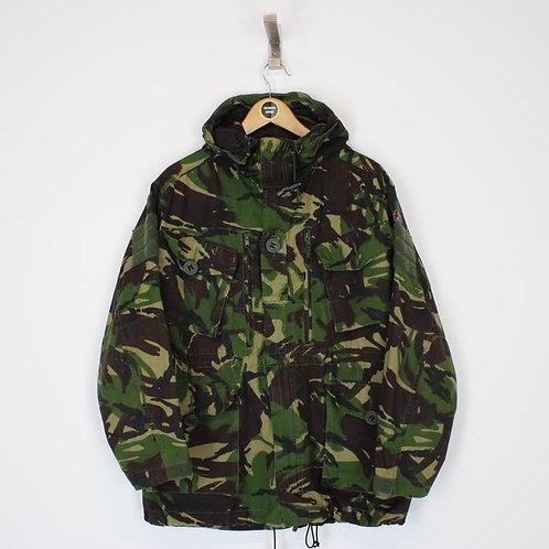 Vintage British Army Camo Jacket Medium