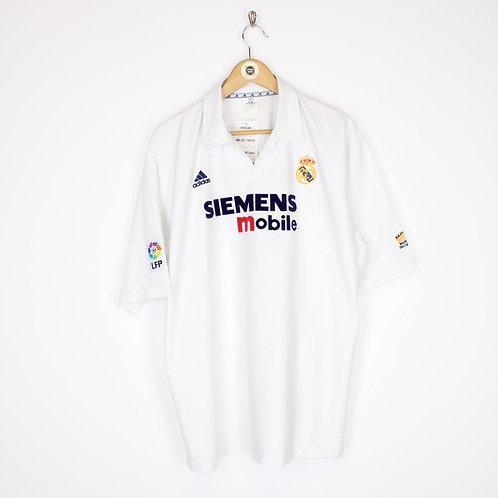 Vintage Real Madrid 2002/03 Shirt Large